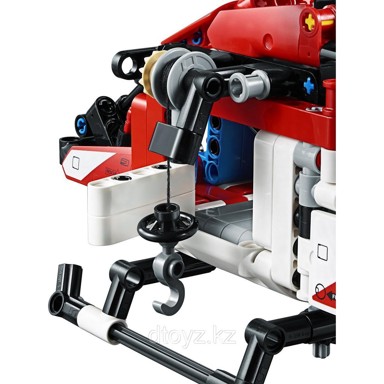 Lego Technic 42092 Спасательный вертолёт, Лего Техник - фото 4
