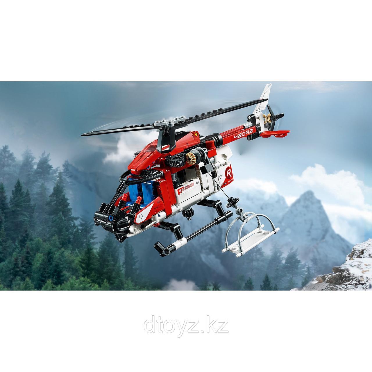 Lego Technic 42092 Спасательный вертолёт, Лего Техник - фото 6