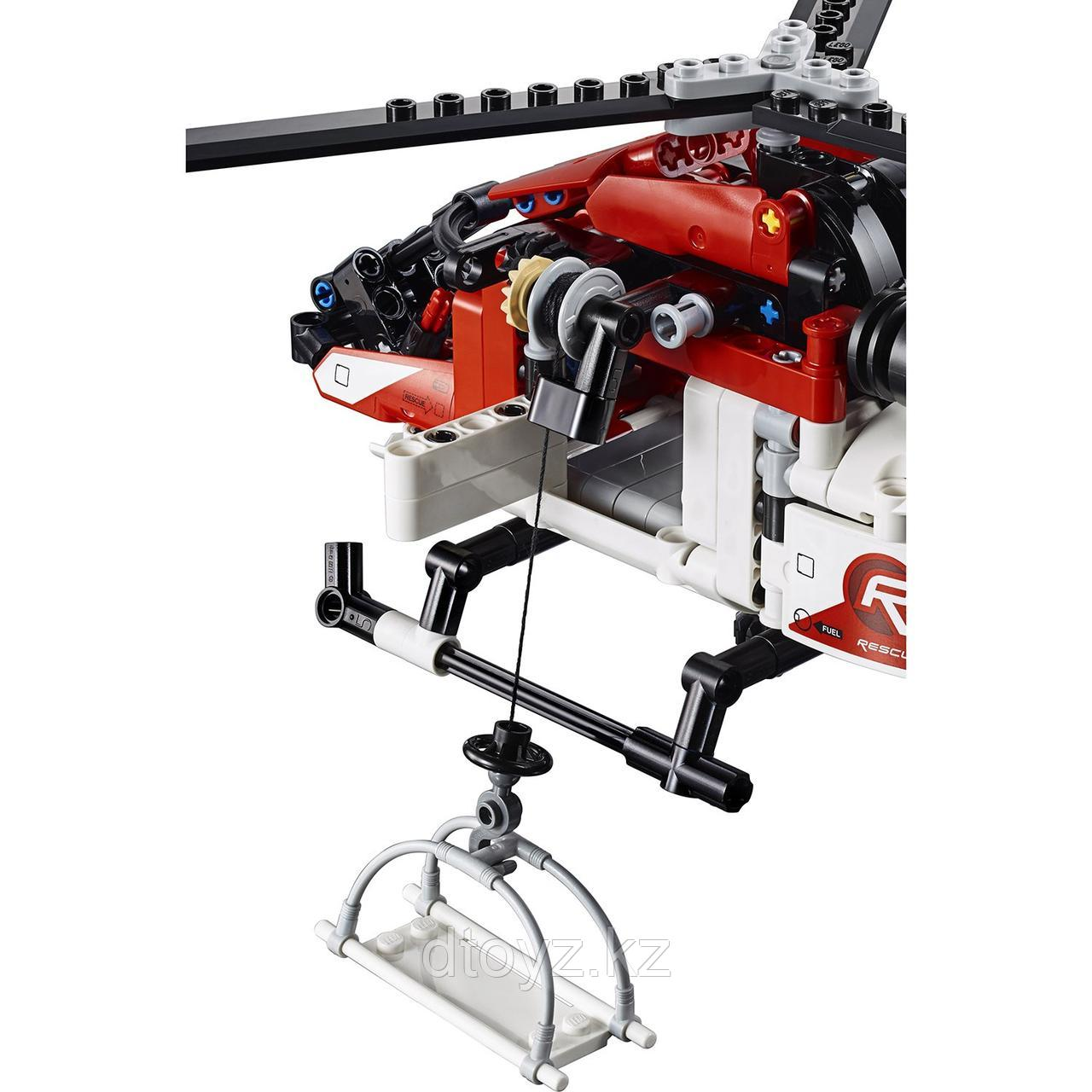 Lego Technic 42092 Спасательный вертолёт, Лего Техник - фото 5