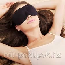 "Маска для сна с ""памятью"" «МОРФЕЙ» Memory Foam Sleeping Mask"