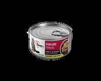1st Choice консервы для кошек Sterilized, КУРИЦА с САРДИНАМИ  85гр , фото 1