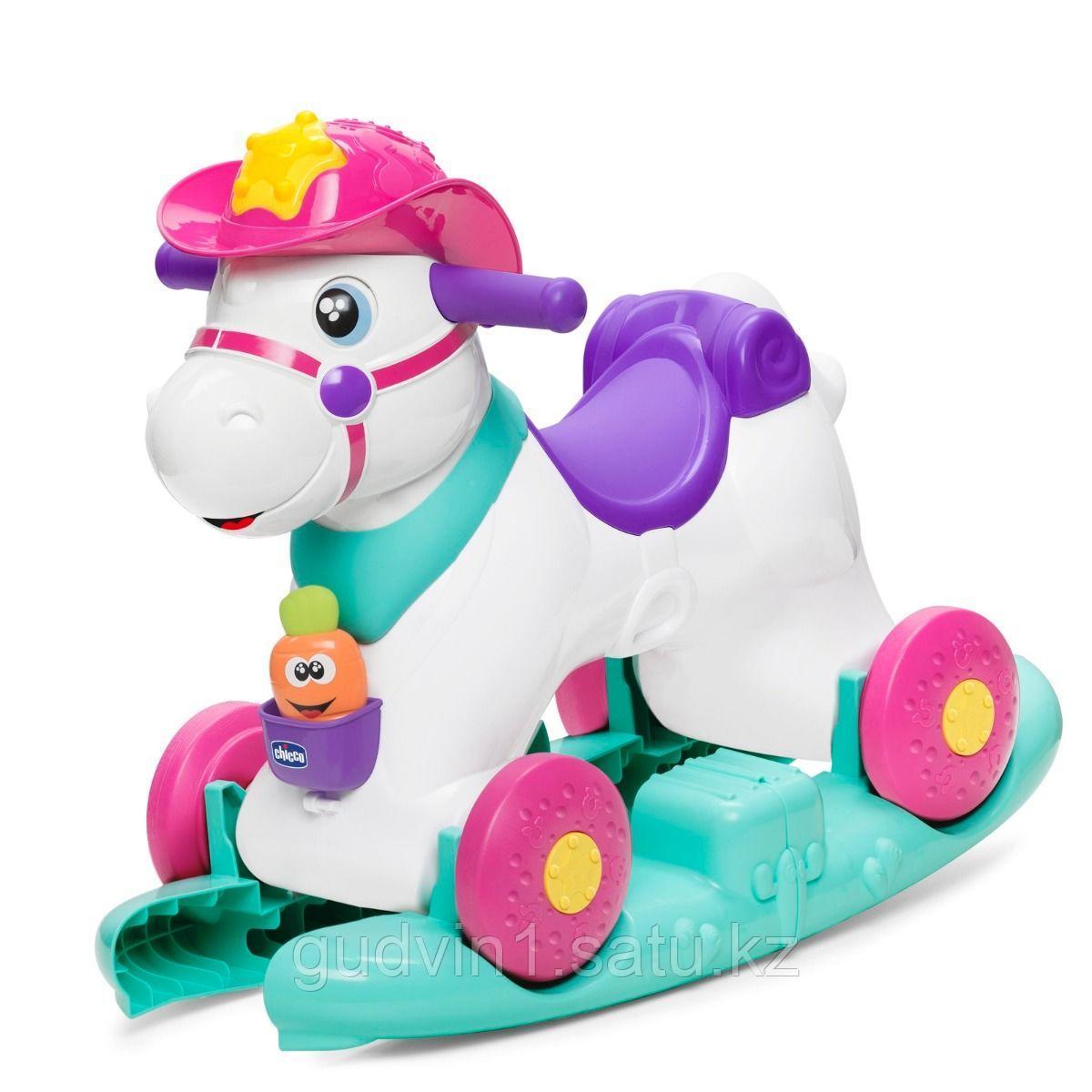 "Chicco: Каталка ""Лошадка Miss Baby Rodeo"" 12м+ код: 1034033"