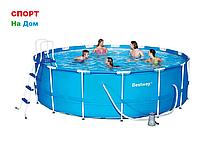 Каркасный бассейн Bestway 56438 (457 х 122 см, на 16015 литров )