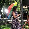 Зонт Радуга подростковый трость