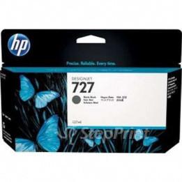HP F9J79A Картридж черный для фотопечати HP 727 для DesignJet T930, T5200, T1500, T920, T2530, T2500, T1530