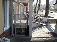 Подъемник для инвалидов вертикальный (без ограждения)), фото 1