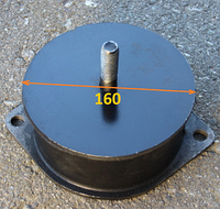 Амортизатор на RV-15, RV-17