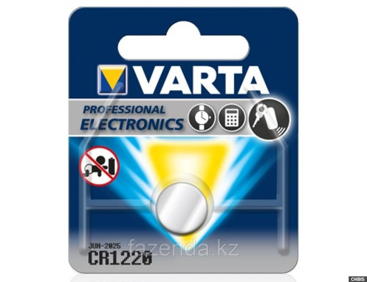 Батарейка varta electronics cr1220