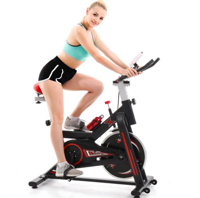 Велотренажер Spin Bike (Черный)