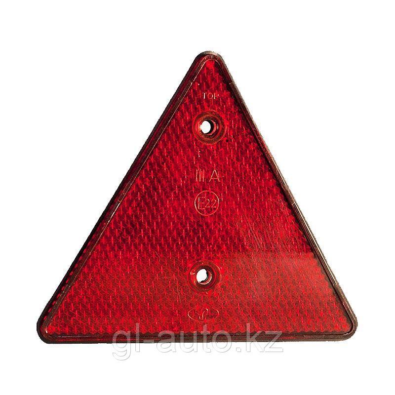 Световозвращатель (красный) треугольный