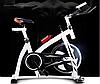 Велотренажер Spin Bike (Белый) , фото 2