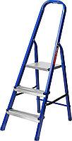 Лестница-стремянка стальная, 3 ступени, 60 см, MIRAX, 38800-03