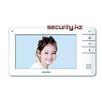 Монитор видеодомофона KOCOM KCV-S701EB DC