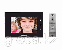 Комплект видеодомофона KOCOM KCV-A374B+KC-MC20