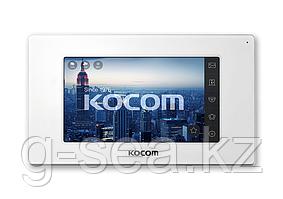 Комплект видеодомофона KOCOM KCV-544SD+KC-MC20(W)