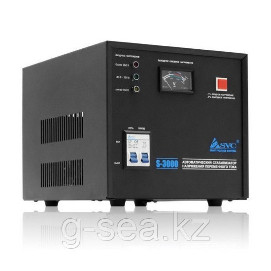 Стабилизатор (AVR), SVC, S-3000, 3000VА