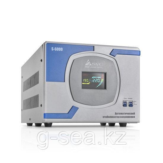 Стабилизатор (AVR), SVC, S-6000(5000Вт)