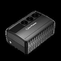 BU600E Интерактивный ИБП, CyberPower BU600E, выходная мощность 600VA/360W, AVR