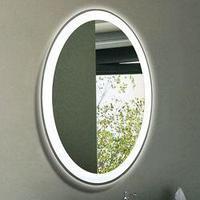 """Зеркало Континент """"Verso LED"""" (570x770) с часами"""