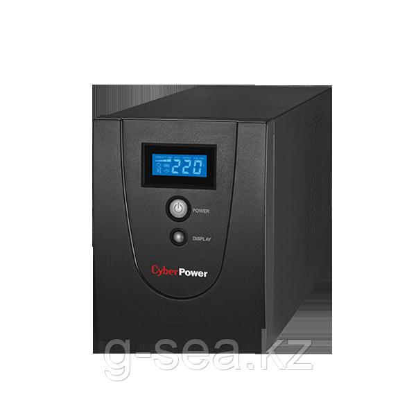 VALUE1500ELCD Интерактивный ИБП, CyberPower VALUE1500ELCD, выходная мощность 1500VA/900W, LCD, AVR