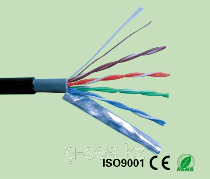 FTP Cat-5 кабель экр. PVC+PE ADP