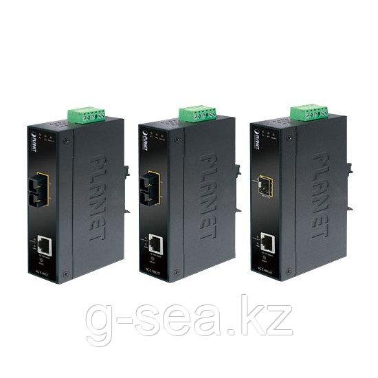 Медиаконвертер, Planet, GT-905A, Разъём SFP, Разъём RJ45, 10/100/1000Base-T, Duplex, Стоечный