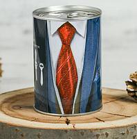Сувенир в банке «На случай важного мероприятия» (галстук)
