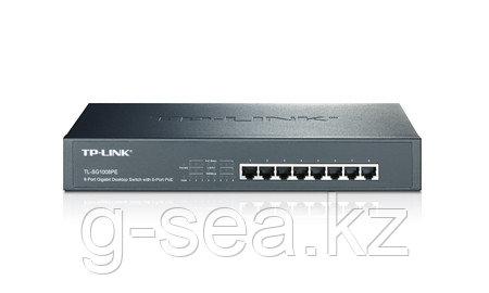Коммутатор, TP-Link, TL-SG1008PE, 8 портов (8 портов с PoE)  10/100M/1000М