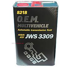 Трансмиссионное масло Mannol 8218 O.E.M. Multivehicle JWS 3309 для АКПП 4L