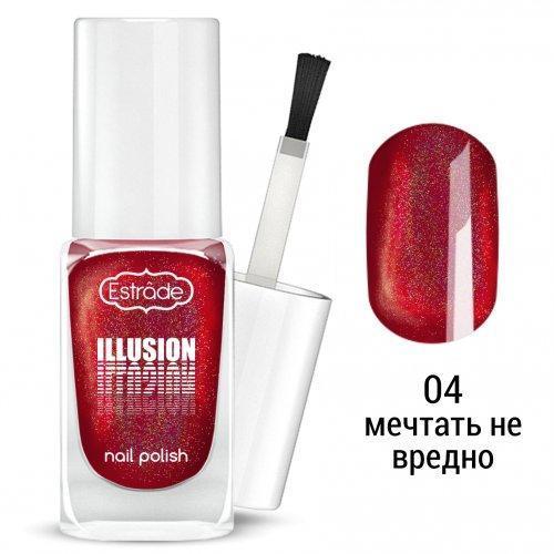 Сияющий лак для ногтей ESTRADE ILLUSION nail polish тон 04
