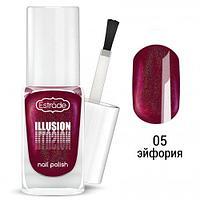 Сияющий лак для ногтей ESTRADE ILLUSION nail polish тон 05