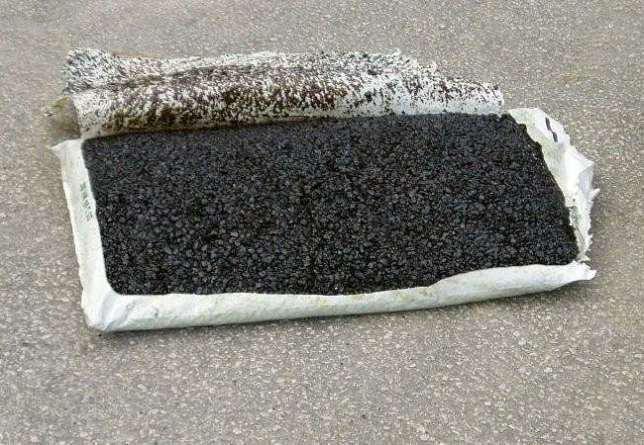 Асфальт холодный готовый 50 кг