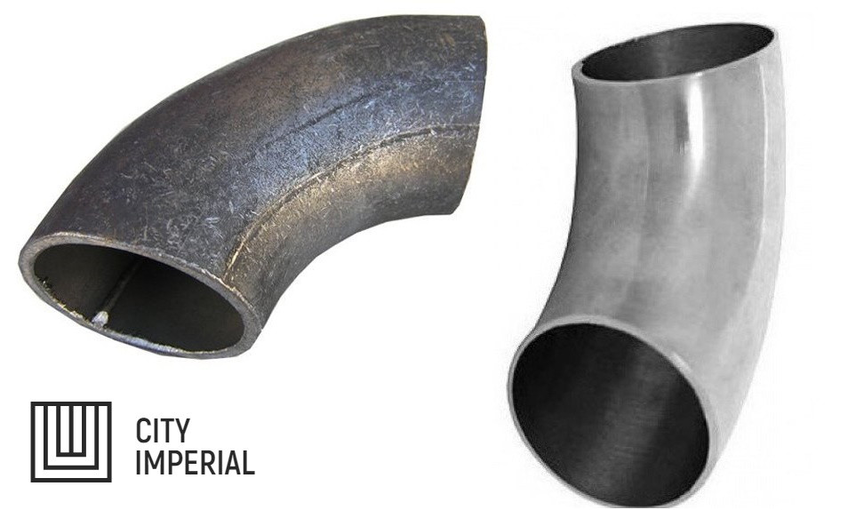 Отвод 45 - 133 х 6 ст.20, ГОСТ 17375-01 цельнотянутый крутоизогнутый