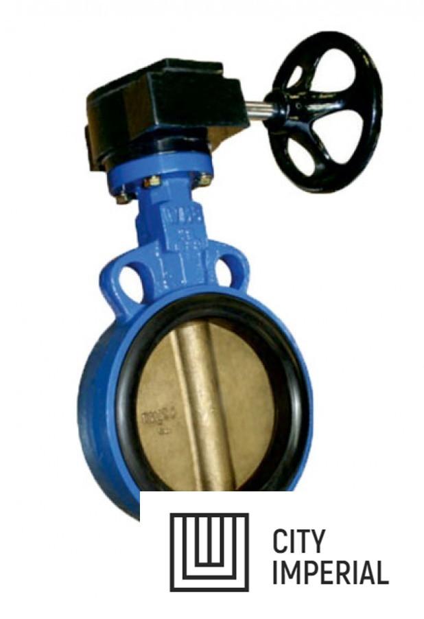 Затвор дисковый DN100 PN6/6