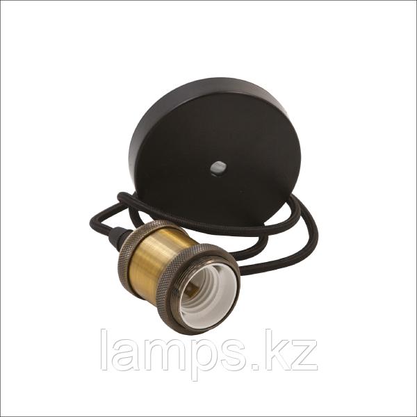Подвесной декоративный патрон ESTELLE-A/E27/MAX.100W/M.GOLDEN