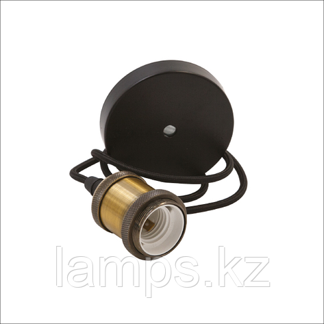 Подвесной декоративный патрон ESTELLE-A/E27/MAX.100W/M.GOLDEN, фото 2