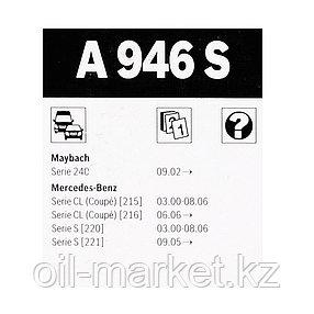 BOSCH Комплект стеклоочистителей Aerotwin 680/680mm (A 946 S) MB W220/W221 all 98>, фото 2