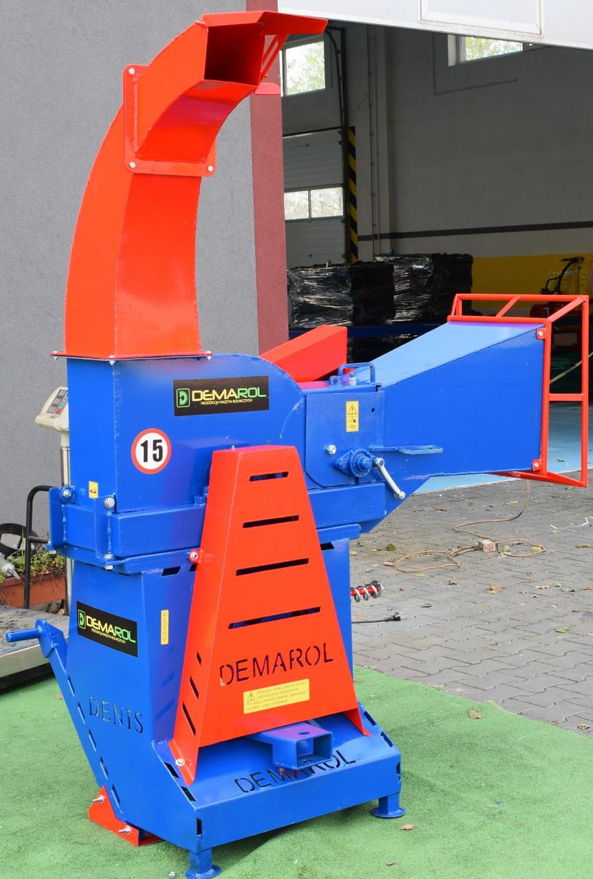 Измельчитель веток (веткодробилка) барабанная типа R-12 Demarol