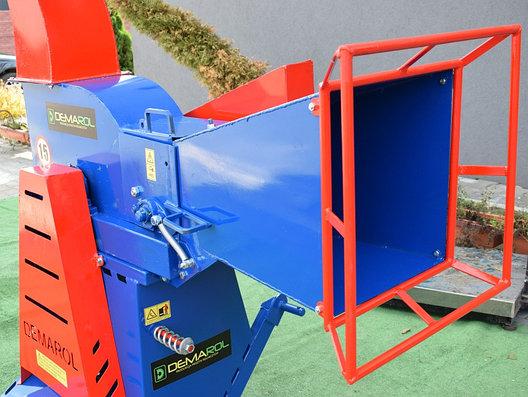 Измельчитель веток (веткодробилка) барабанная типа R-12 Demarol, фото 2