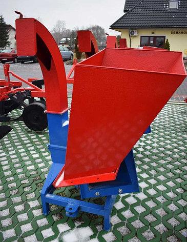 Измельчитель веток (веткодробилка) дисковая типа R-13 Demarol, фото 2