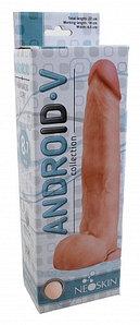 Фаллоимитатор реалистик ANDROID LONG L 22.5 см D 4.5 см, киберкожа