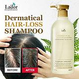 Бессульфатный шампунь против выпадения волос Lador Dermatical Hair-Loss Shampoo, фото 3