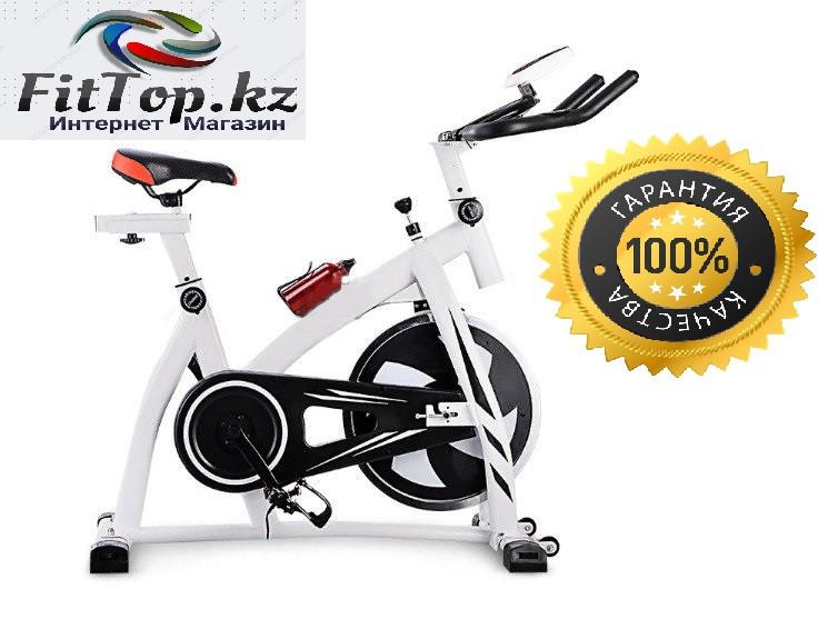 Велотренажер SpinBike (белый) YH-602
