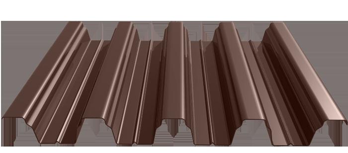 Профнастил 0,5 мм толщина с полимерным покрытием Optima  С8, НС20, НС21, НС35, НС44