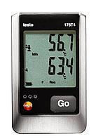 Testo Testo 176 T4 4-х канальный логгер данных температуры 0572 1764, фото 1