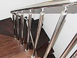 Перила из нержавеющей стали с вертикальным заполнением, фото 2