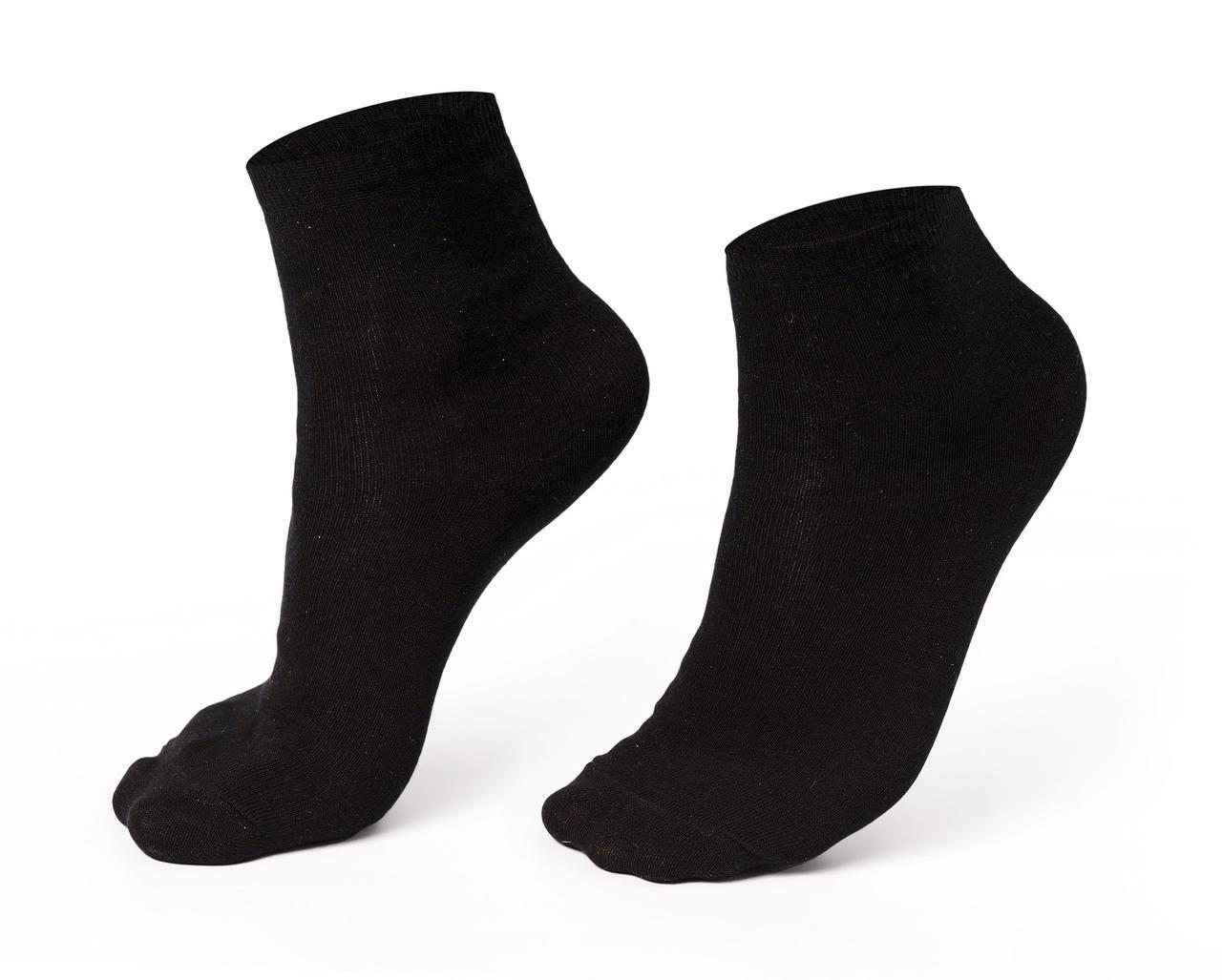 Спортивные мужские носки, черные, длинные