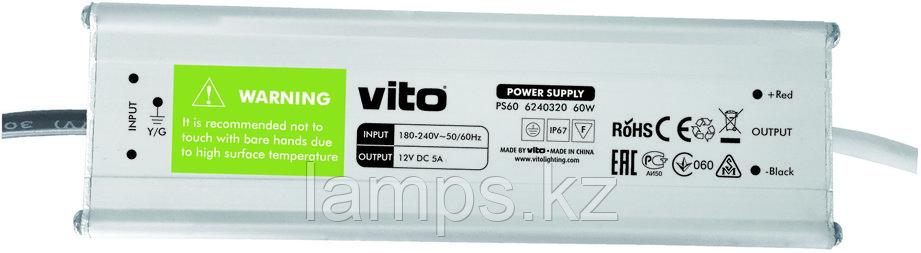 Блок питания PS60/60W/12VDC/IP67, фото 2