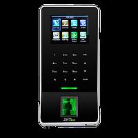 Ультратонкий терминал учета рабочего времени и контроля доступа ZKTeco F22/ID