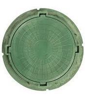 Люк зеленый 3т
